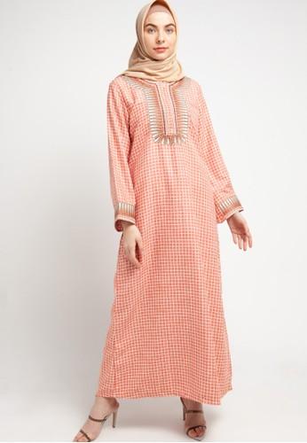 ARJUNA WEDA pink Jalabeyah Dubai Batik Almia A54C5AA78D502FGS_1