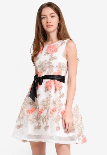 Megane white Raissa Dress ME617AA0RR3CMY_1