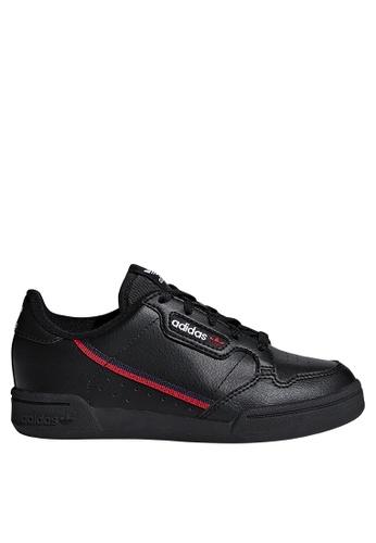 ADIDAS black continental 80 shoes E662DKS17B2BD7GS_1