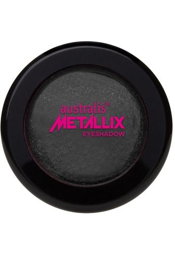 Australis black Metallix Eyeshadow - Midnight Foil AU782BE74NPLSG_1