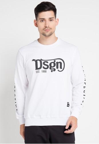 D&F white T-Shirt Babby Terry Tangan Panjang DF100AA0VY9IID_1