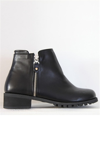 Crystal Korea Fashion black Korean Winter New Comfortable Wild Boots (BIG Size) B7C81SH7F90890GS_1