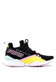 2e4a17f0352 Puma black Sportstyle Prime Muse Maia TZ Women s Shoes 1E783SHAE0E5F1GS 1
