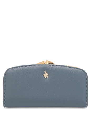 Swiss Polo blue LADIES LONG PURSE 52927AC6E13DFDGS_1