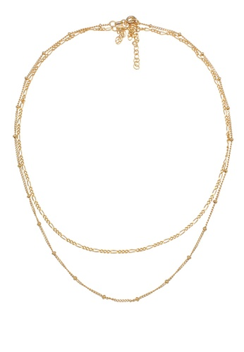 ELLI GERMANY gold Gold Plated Ball Chain Necklace Set A292AAC68EBCBAGS_1