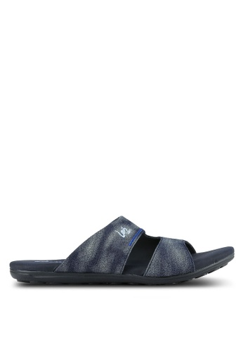Louis Cuppers blue and navy Louis Cuppers Sandals LO977SH0S9S8MY_1