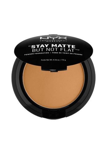 NYX Professional Makeup brown NYX Professional Makeup Stay Matte Powder Foundation- DEEP GOLD 9E82FBE02CBD38GS_1