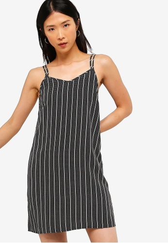 ZALORA BASICS multi Basic Double Straps Cami Dress 0DB36AAC366B35GS_1