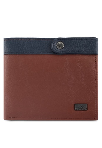 RAV Design brown Leather Wallet 73446ACD73AE91GS_1