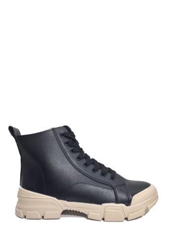 Twenty Eight Shoes black Trendy Work Boots VB9291 67A90SH23EE9AFGS_1