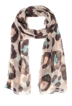 Big Animal Print Scarf