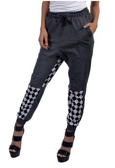 Women's Cotton Jogger Pants Racer