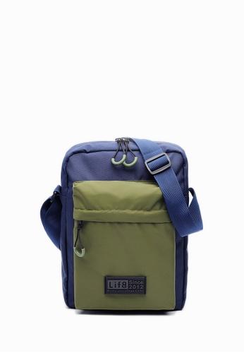 Life8 green and blue Lightweight Casual Totes Bag-06405-Green LI248AC2VFKIHK_1