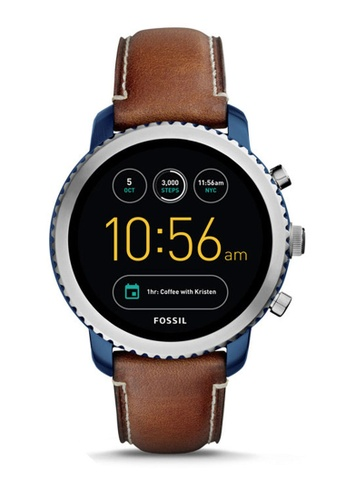 Fossil brown Fossil Q Explorist Brown Smart Watch FTW4004 FO164AC0S3OOMY_1