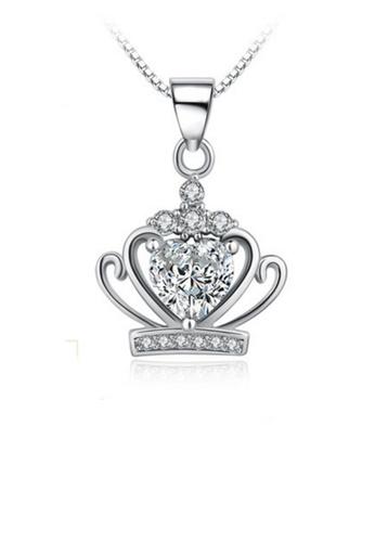 LYCKA silver LPP88145 S925 Silver Necklace 030BEAC3228949GS_1