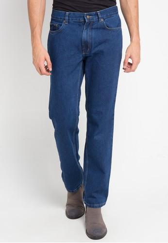 Jimmy Martin blue Celana Panjang Denim Roll Up 5717DAA5A5F048GS_1