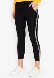 Balaynor black Skinny Track Pants 54412AA071E666GS_1