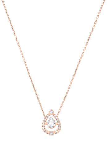 Buy Swarovski Sparkling Dance Pear Pendant Necklace Online   ZALORA ... 29d32c79b6