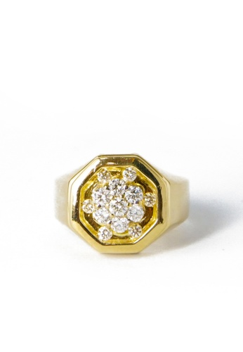 CEBUANA LHUILLIER JEWELRY gold 14 Karat Yelow Gold Ring With Diamonds 187DFAC1F2887AGS_1