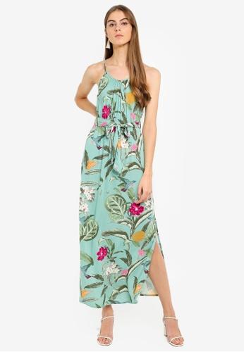 5fa5a1bf757ad3 Buy Vero Moda Simply Easy Slit Maxi Dress | ZALORA HK