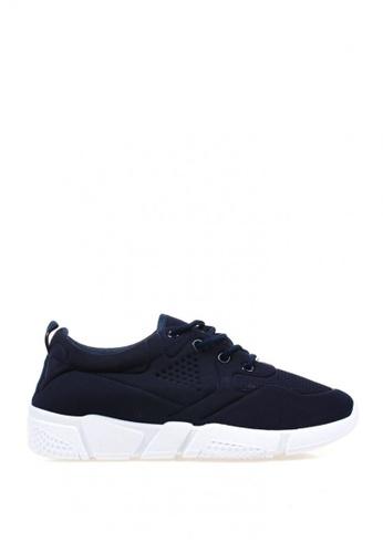 New York Sneakers navy Harry Men's Rubber Shoes AA6C2SHA1B0B7EGS_1