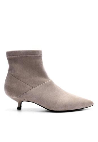 Twenty Eight Shoes 猄布踝靴1592-6 57F40SH5A0AADCGS_1