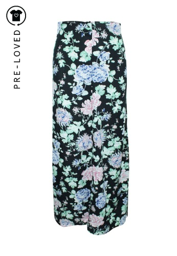 Reformation multi Pre-Loved reformation Maxi Floral Skirt with Slit 1271FAABCF6CDFGS_1