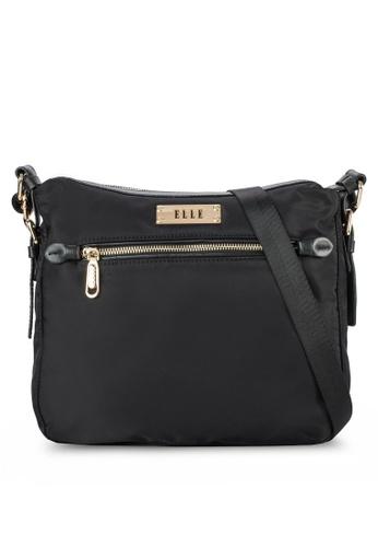 ELLE black Tini 5 Sling Bag EL900AC57VOSMY_1