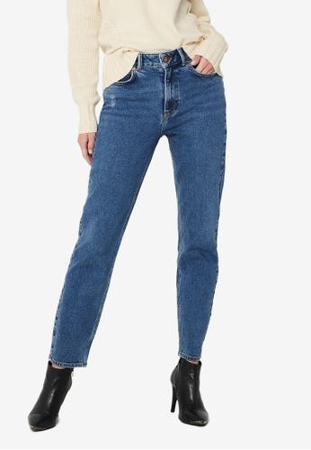 JACQUELINE DE YONG blue Kaja Life Ankle Jeans F6DCCAAA46BFE5GS_1