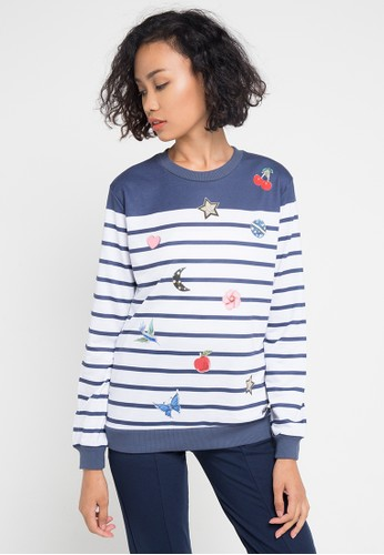 Cardinal blue Sweater CA079AA0VP39ID_1