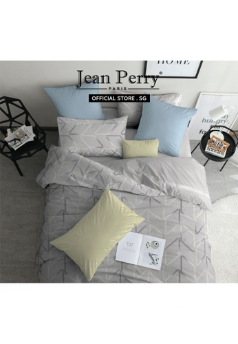 Jean Perry Jean Perry Rivolux 100% Combed Cotton Sateen 1000TC Osako - Fitted Sheet Set - Queen D642CHL2272390GS_1