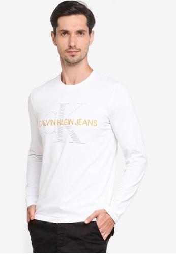 Calvin Klein white A-Ls Slim Mgm Animal - Calvin Klein Jeans 29406AA0FB5F25GS_1
