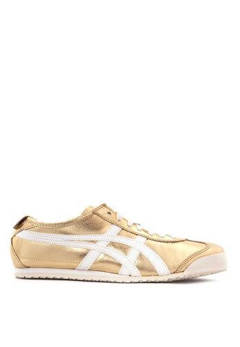 Onitsuka Tiger white and gold Mexico 66 Sneakers ON625SH52PVRPH_1