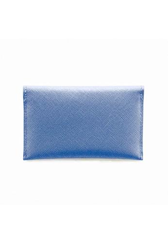 Crudo Leather Craft purple Senz'altro Name Card Holder - Saffiano Mauve 1B05FACFE33B08GS_1