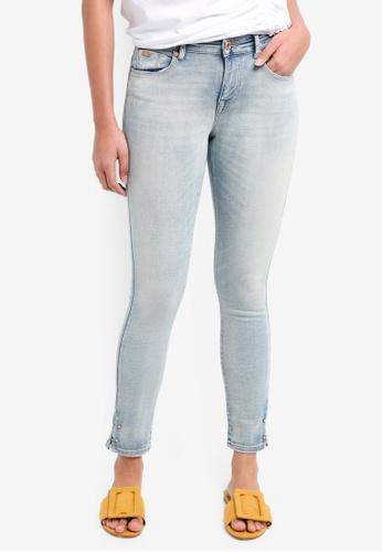ONLY blue Carmen Skinny Denim Jeans 1BF49AA5F2C55BGS_1