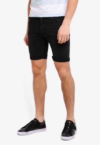 MANGO Man grey Denim Bermuda Shorts F5F69AAD187596GS_1