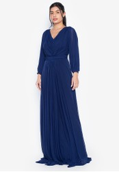 Tantease navy Greta Evening Dress 50510AA2F39D14GS_1