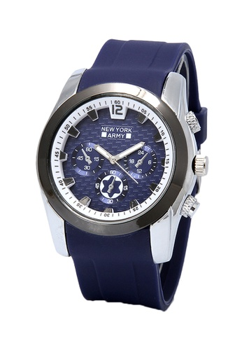 Greatvalueplus blue Denver NYA8824 Rubber Strap Watch 14002AC9531125GS_1