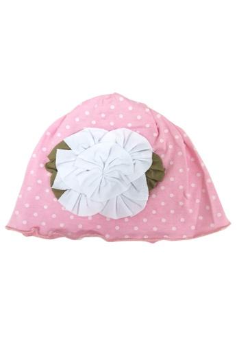 Lowela pink Beanie Hat 65533KCEEE5FC5GS_1