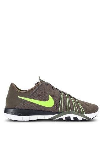 Nike green Women's Nike Free TR 6 Training Shoes NI126SH26MGJMY_1