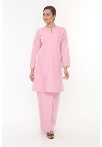 Amar Amran pink Baju Kurung Pahang Qirana 91111AADB30A1BGS_1
