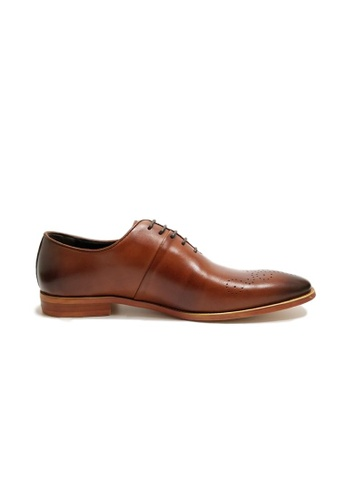 Kings Collection brown Rodrigo Oxford Shoes 9A1A1SH1DD1A7BGS_1