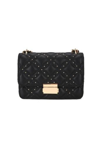 Lara black Women's Fashionable Crossbody Bag CDEF6ACFB191D0GS_1