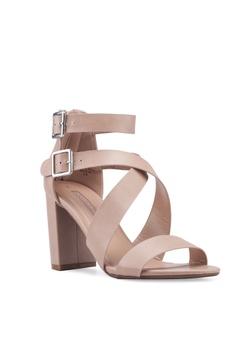 07073c974d1 20% OFF Dorothy Perkins Nude Staffie Cross Block Heels HK$ 400.00 NOW HK$  319.90 Sizes 3 4 5 6 7