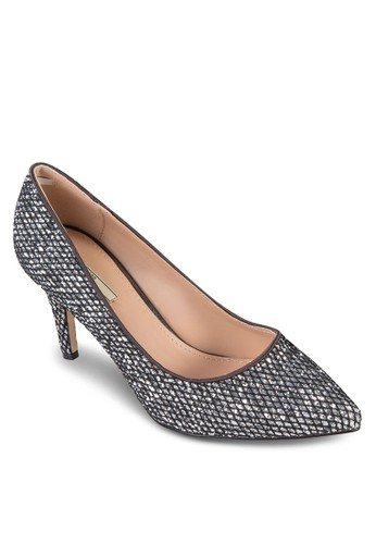亮面尖頭高跟鞋, 女鞋, zalora 手錶鞋