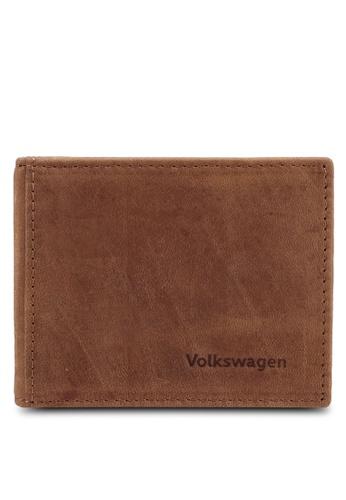 Volkswagen brown Leather Money Clip 1CBD2AC96B622BGS_1