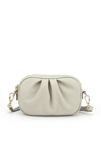 HAPPY FRIDAYS Three Layer Zipper Leather Shoulder Bags JN3050 567F7AC4C3F007GS_1