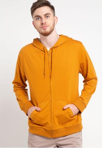Tolliver yellow Hoodies With Zipper CBE6BAAB7EA3C5GS_1
