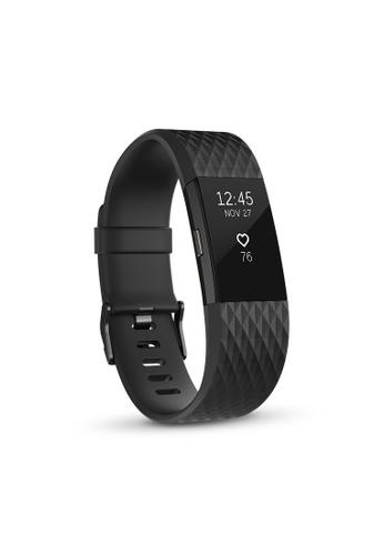 Fitbit black Fitbit Charge 2 Gunmetal 9CFDEAC6CF45B1GS_1