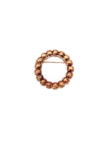 Paulini gold Brooch Nyonya (G) PA011AC69KZEMY_1